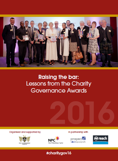 Charity Governance Awards ebook