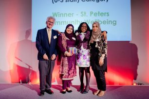 St Peters Community Wellbeing Projects - Charity Governance Awards 2017